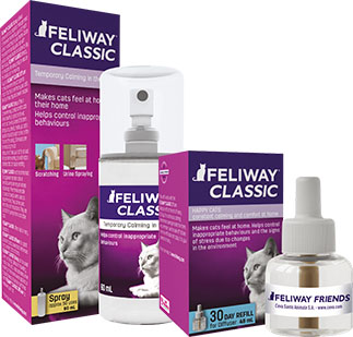 feliway cat classic refil packs