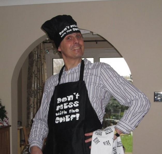 Dont mess with the chef